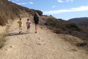 hike with mom