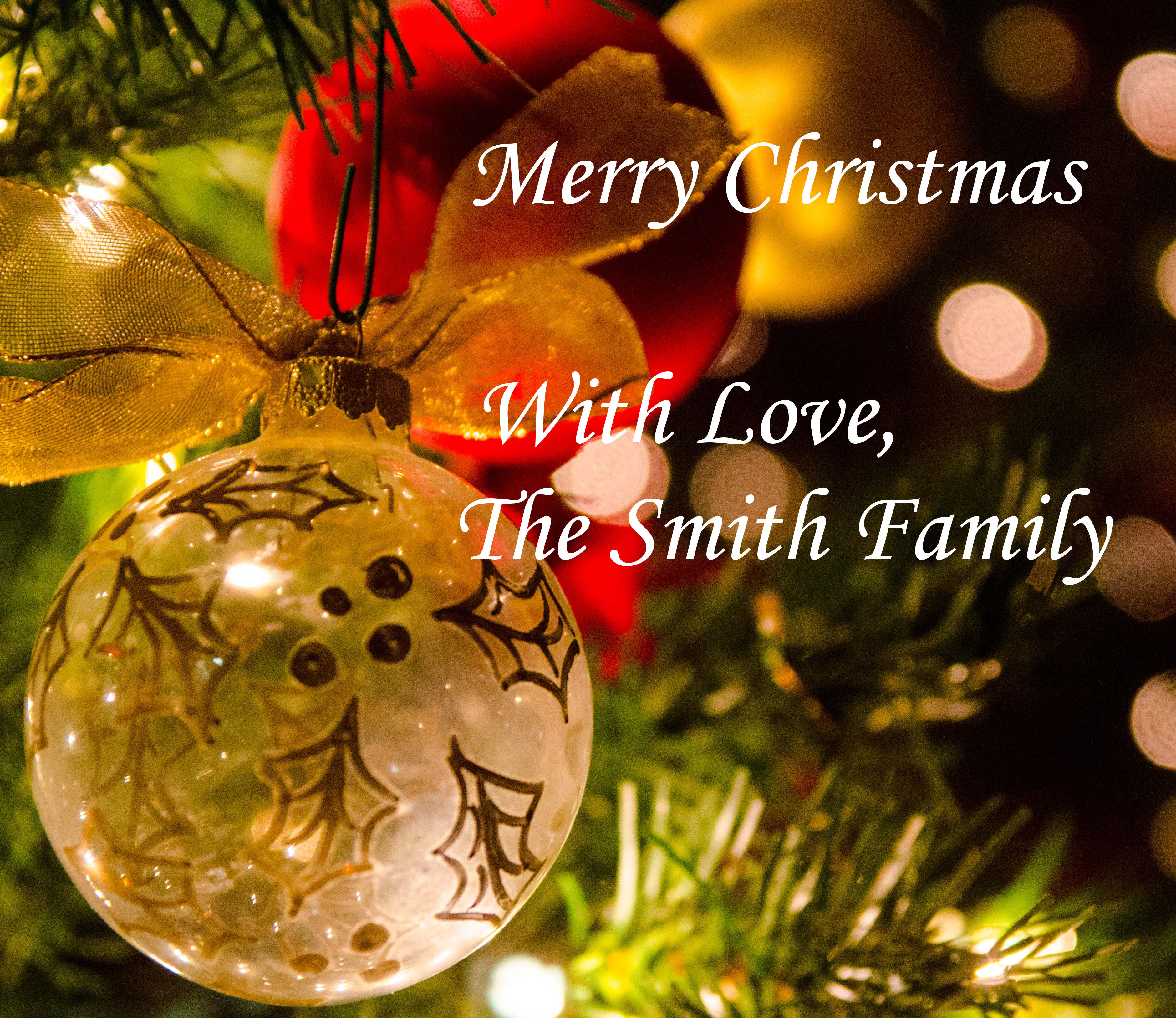 Merry Christmas from the Smith Family! | Loretta Smith, SimplyHealed ...