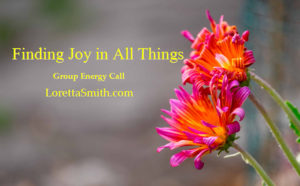 finding joy in all things group call