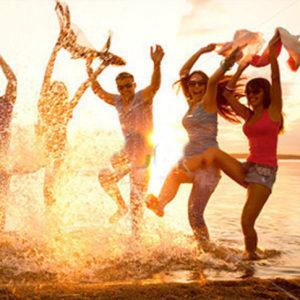 people-splashing