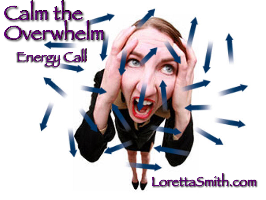 calm the overwhelm group call